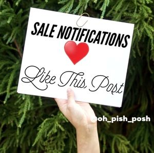 LIKE FOR FLASH SALE NOTIFICATION